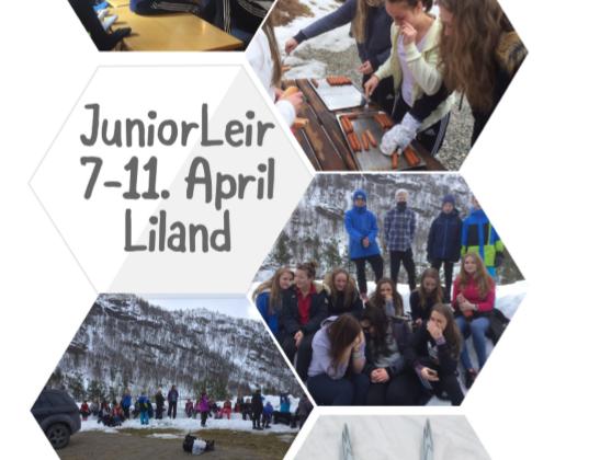 Juniorleir påsken 2017